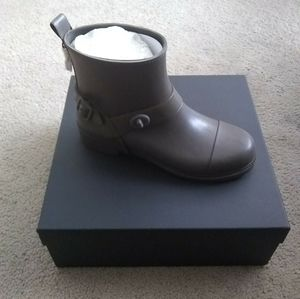 New Coach rain boots